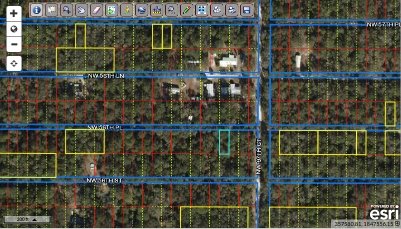 Chiefland, Florida – camping lot – Parcel # 0109749800