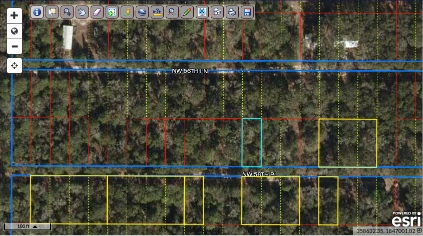 North Florida camping lot minutes from Suwannee River