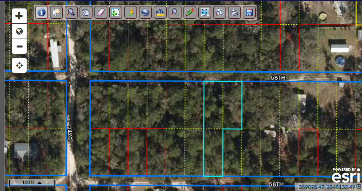 Buildable lot fronting 2 roads – Florida land for sale by owner
