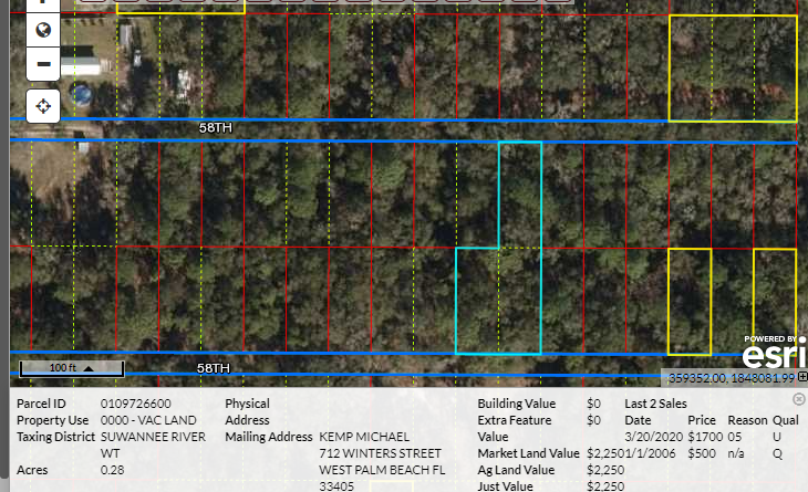 .28 acres – Build your dream home here!