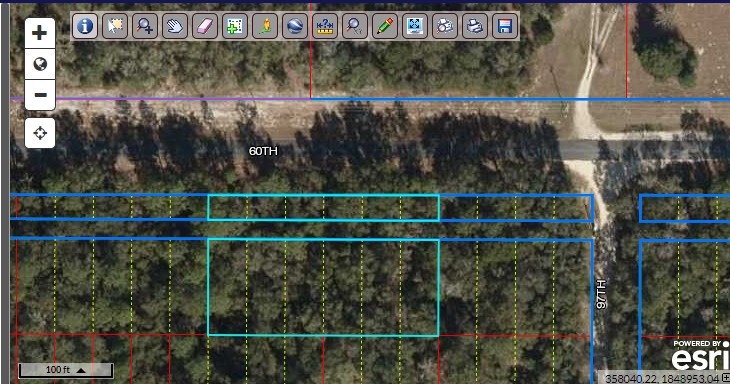 Rare find!  Buildable lot minutes from Suwannee River!  6 side-by-side lots with 240 road frontage!  For sale by owner!