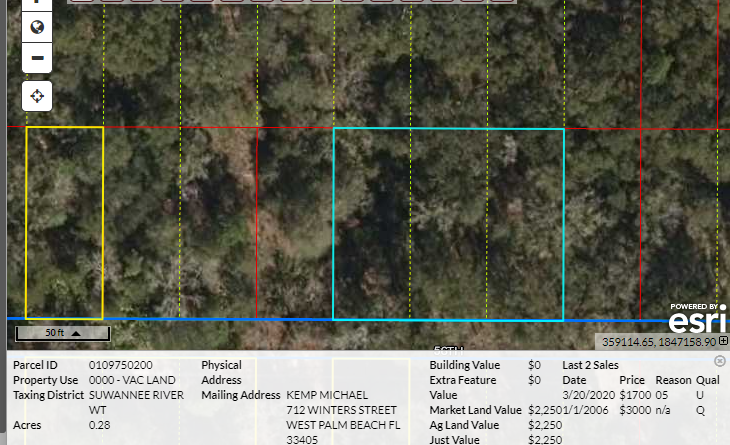 .28 acre – buildable lot – North Florida land for sale by owner