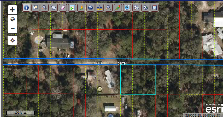 3 lots – 120′ road frontage (12,000 square feet) buildable – Florida Land FSBO