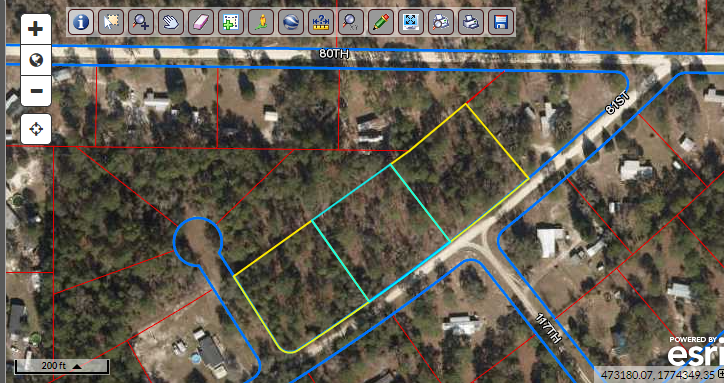.95 acre lot – Buildable – North Florida land for sale by owner!